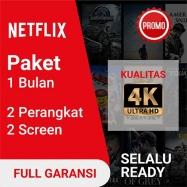 Netflix Shared (Max 2 Device) 30 Hari, (Full Garansi)